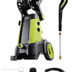 Sun Joe SPX3001 2030 PSI 1.76 GPM 14.5 AMP Electric Pressure Washer with Hose Reel, Green | Amazon (US)
