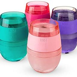 HOST Cooling Cup Set of 4 Double Wall Insulated Freezable Drink Chilling Tumbler with Freezing Ge...   Amazon (US)