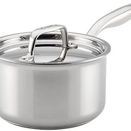 Breville Thermal Pro Stainless Steel Sauce Pan/Saucepan with Lid, 2 Quart, Silver   Amazon (US)