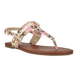 Women's Leedia Thong Flat Sandals | Macys (US)