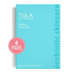 TULA Skin Care Instant Facial Dual-Phase Skin Reviving Treatment Pads (6 pads) | Lactic Acid Pads... | Amazon (US)