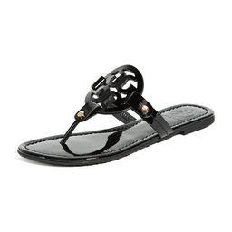 Tory Burch Miller Patent Thong Sandal | Shopbop