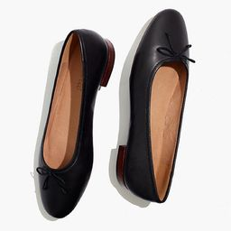 The Adelle Ballet Flat in Leather | Madewell