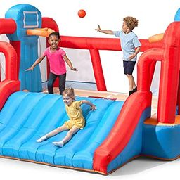 Step2 MAX Sports Full Court Basketball 'n Slide Bouncer with Extra Heavy Duty Blower   Kids Inf...   Amazon (US)