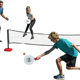 Wicked Big Sports Paddle Battle Giant Outdoor Ping Pong and Pickle Ball Set   Amazon (US)