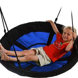 "Swing-N-Slide WS 4861 Nest Swing with 40"" Diameter, Blue   Amazon (US)"
