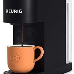 Keurig K-Slim Coffee Maker, Single Serve K-Cup Pod Coffee Brewer, 8 to 12 oz. Brew Sizes, Black | Amazon (US)