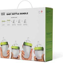Comotomo Baby Bottle Bundle, Green | Amazon (US)