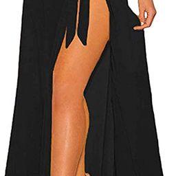 Chalier Beach Sarong Pareo Womens Swimsuit Cover Up Bikini Swimwear Cover-ups Wrap Skirt   Amazon (US)