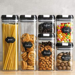 Food Storage Containers, Airtight Containers Set with Easy Lock Lids, Leakproof Durable Food Grad...   Amazon (US)