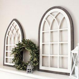 farmhouse window, farmhouse decor, church window, framed arch, cathedral window, window arch, man...   Etsy (US)