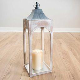 Whitewashed New Hampshire Lantern, 36 in.   Kirkland's Home