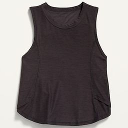 Ultra-Soft Breathe ON Side-Wrap Tank Top for Girls   Old Navy (US)