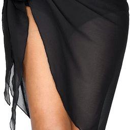 milkfeel Beach Sarong Coverups for Women Bathing Suit Cover Up Skirt Swimsuit Wraps Bikini Plus S... | Amazon (US)
