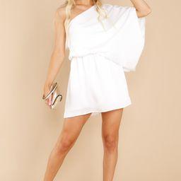 Your Inner Goddess White Dress   Red Dress