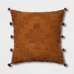Oversize Chunky Textured Diamond Throw Pillow - Opalhouse™ | Target