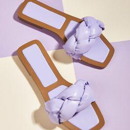 Braided Design Slide Sandals | SHEIN