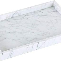 JESSILIN HOME Marble Tray, Rectangle Decorative Stone Tray for Storage and Display with Perfume, ...   Amazon (US)