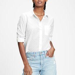 Button-Front Pocket Shirt | Gap Factory