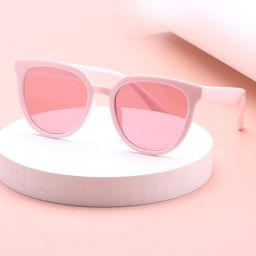 Acrylic Frame Tinted Lens Sunglasses   SHEIN