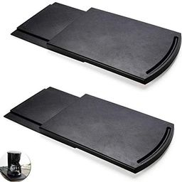 2 Pack Sliding Coffee Maker Tray, 12'' Countertop Appliance Caddy Slider for Blender Toaster ... | Amazon (US)