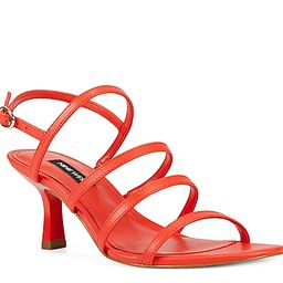 Nine West Smooth Sandal - Women's - Orange | DSW