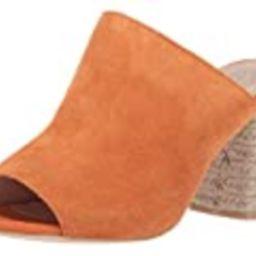 Sbicca womens Mule Heeled Sandal, Orange, 6 US | Amazon (US)
