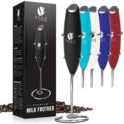 Bean Envy Milk Frother Handheld - Perfect For The Best Latte - Whip Foamer - Includes Stainless S... | Amazon (US)