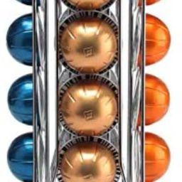 BluePeak Coffee Capsule Rack Holder Carousel - Holds 20 Capsules Vertuo Line. Elegant and Modern ... | Amazon (US)