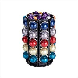 Rice rat Coffee Pod Carousel Holder for Nespresso Vertuoline With Central Additional Pods Storage... | Amazon (US)