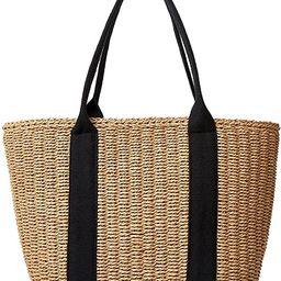 Women Straw Bags Summer Beach Large Tote Bag Handmade Woven Shoulder Crossbody Handbag | Amazon (US)