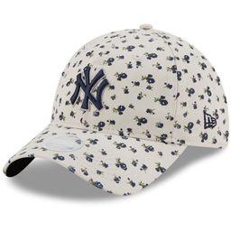 New York Yankees New Era Women's Floral 9TWENTY Adjustable Hat - Cream - OSFA | Walmart (US)