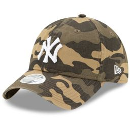 New York Yankees New Era Women's Tonal Core Classic 9TWENTY Logo Adjustable Hat - Camo - OSFA | Walmart (US)