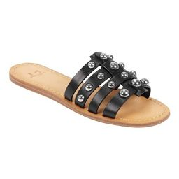 Women's Marc Fisher Pava Studded Slide Sandal | Walmart (US)