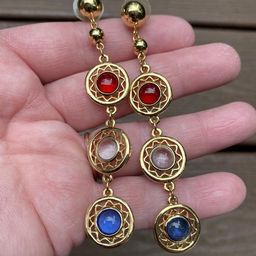 Vintage Jewelry Gorgeous Red White and Blue Jelly Belly 4th of   Etsy   Etsy (US)