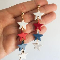 The 'MURICA Collection  USA Star Dangles  Polymer Clay   Etsy   Etsy (US)