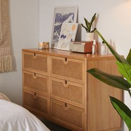 Marte 6-Drawer Dresser | Urban Outfitters (US and RoW)