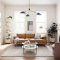 Haven Loft Leather Sofa | West Elm (US)