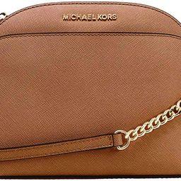 Michael Kors Emmy Saffiano Leather Medium Crossbody Bag | Amazon (US)