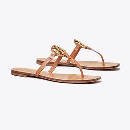 Mini Miller Leather Thong Sandal | Tory Burch (US)