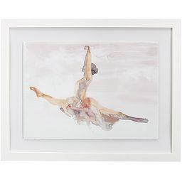 Ballet Grand Jete Framed Art | Pottery Barn Kids