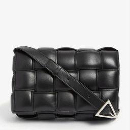 Padded Cassette intrecciato leather cross-body bag   Selfridges