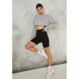 Petite Black Biker Shorts   Missguided (US & CA)
