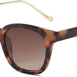 SOJOS Classic Square Polarized Sunglasses for Women UV400 Sun Glasses SJ2050 | Amazon (US)