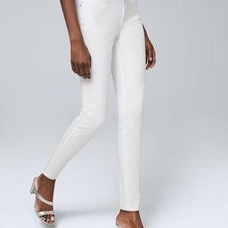 Petite Ultimate Sculpt High-Rise Skinny Ankle Jeans   White House Black Market