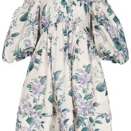 Exclusive to Mytheresa – Floral linen minidress | Mytheresa (US)