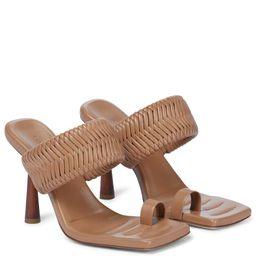 GIA/RHW Rosie 1 leather sandals | Mytheresa (US)