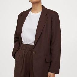 Lyocell-blend Shorts   H&M (US)
