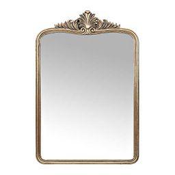 Antique Gold Victoria Scroll Mirror | Kirkland's Home
