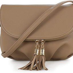 EMPERIA Savanna Small Vegan Faux Leather Front Flap Crossbody Bags Shoulder Bag Messenger Bag Pur... | Amazon (US)